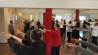 Sehnen-Qigong-Seminar, Wuji-Zentrum Schmelz, 14. Februar 2016