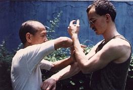 1987 or 88 Unterricht bei meinem WC-Sifu Lo Man Kam