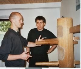 2001 Unterricht mit Uwe Kunz