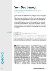 Ansgar Gerstner_Taijiquan und Qigong Journal_Artikel Seite 1_Bild