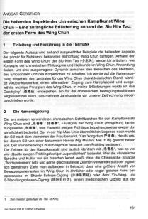2013 Die heilenden Aspekte der chinesischen Kampfkunst Wing Chun