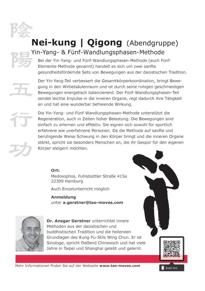 Flyer_Nei-kung | Qigong_Unterricht im Medosophos bei Ansgar Gerstner_ab 20201001
